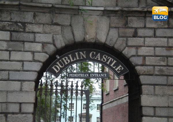 Entrata pedonale del Castello di Dublino