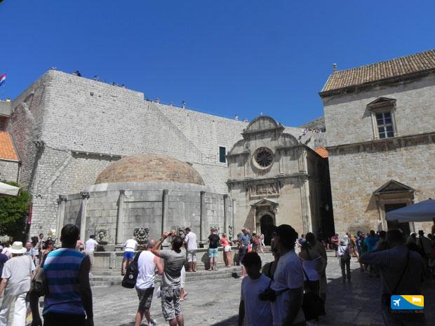 Fontana di Onofrio a Dubrovnik