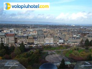 Veduta della città di Edimburgo