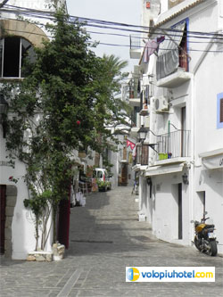Vicoletti di Ibiza centro