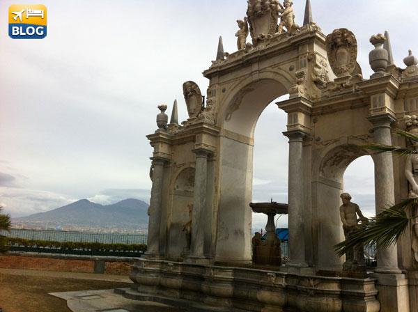 La Fontana del Gigante a Napoli
