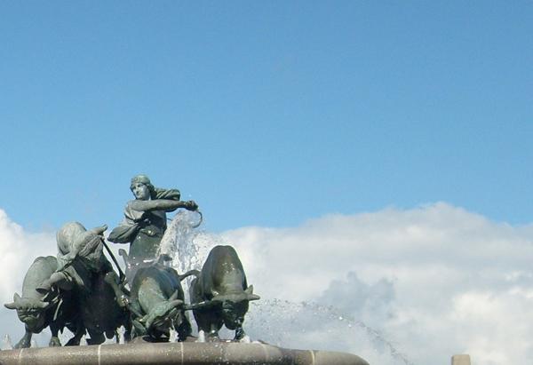 Fontana di Gefion particolare