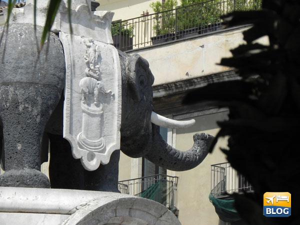 Fontana dell'Elefante a Catania