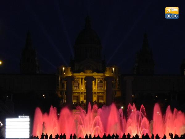 Fontana Magica di Montjuic a Barcellona