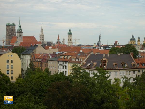 Frauenkirke vista dall'alto