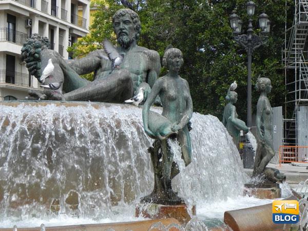 Le statue di bronzo