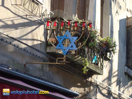 Particolare del ghetto ebraico di Venezia