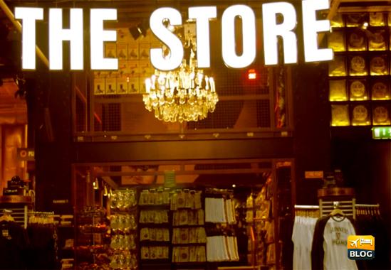 Lo store della Guinness a Dublino.