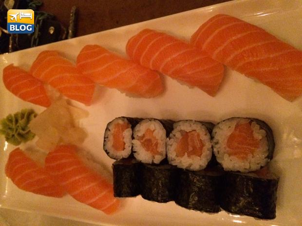 Sushi e nigiri