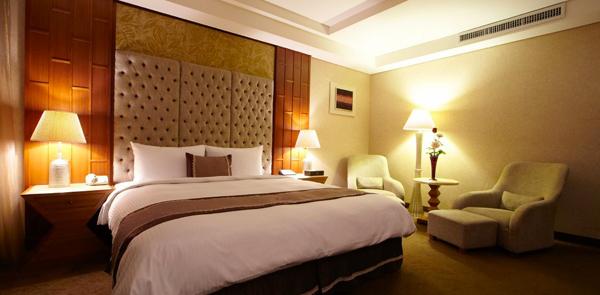 Una stanza di hotel con Aria condizionata
