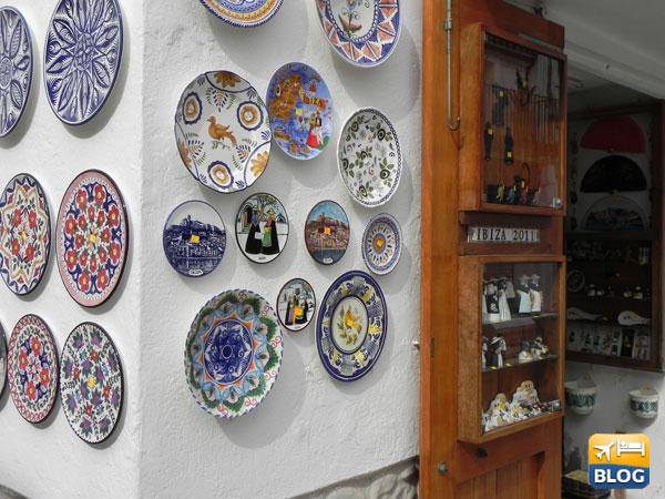 Negozi di souvenir e artigianato ad Ibiza