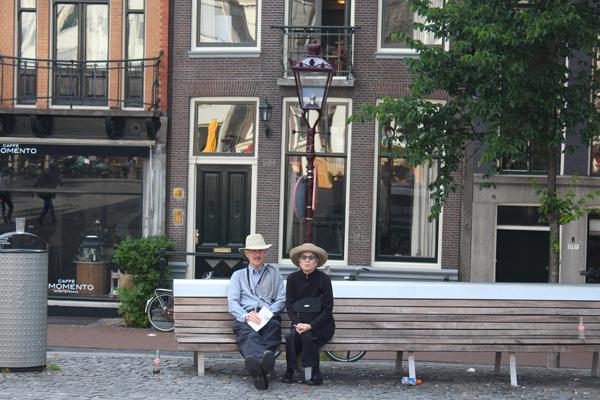 Spazzi di vita quotidiana ad Amsterdam