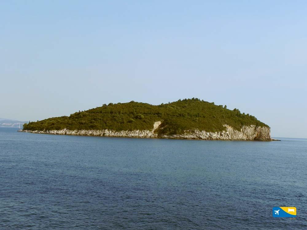 Isola di Lokrum a Dubrovnik