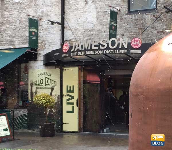 Entrata Old Jameson Distillery Dublino
