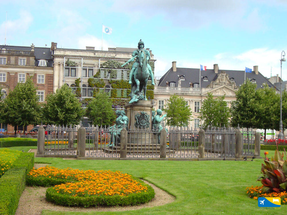 Kongens Nytrov a Copenaghen