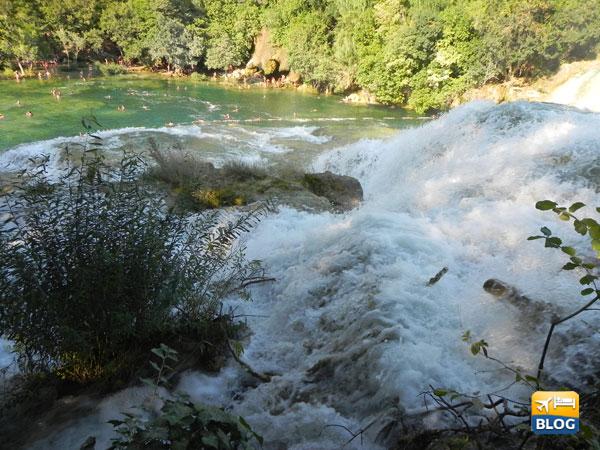 Alcune cascate a Krka
