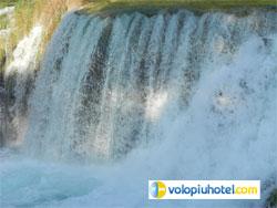 Altra veduta delle cascate di Krka