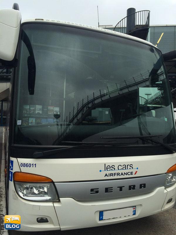 Les Cars di Air France all'aeroporto di Orly