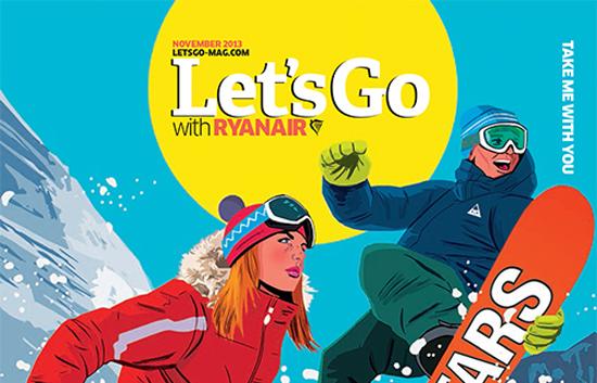 Let's Go Magazine di Ryanair