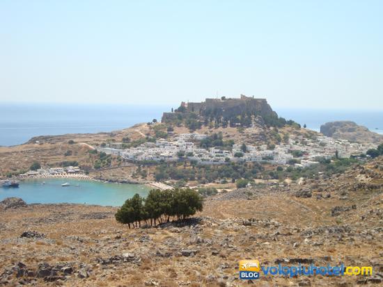 La Rocca di Lindos a Rodi