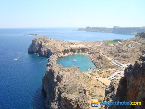Panorama dalla Rocca di Lindos