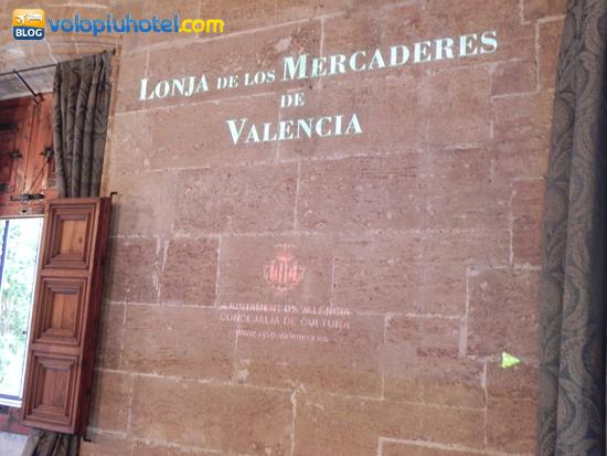 Entrata della Lonja de la Seda a Valencia