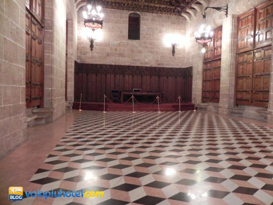 Sala a Scacchi al piano superiore