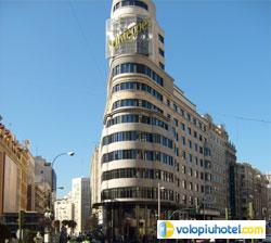 Gran Via a Madrid