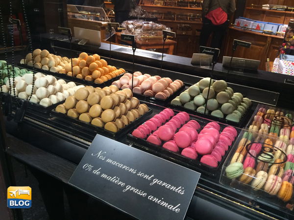 Macarons alla Maison Georges Larnicol