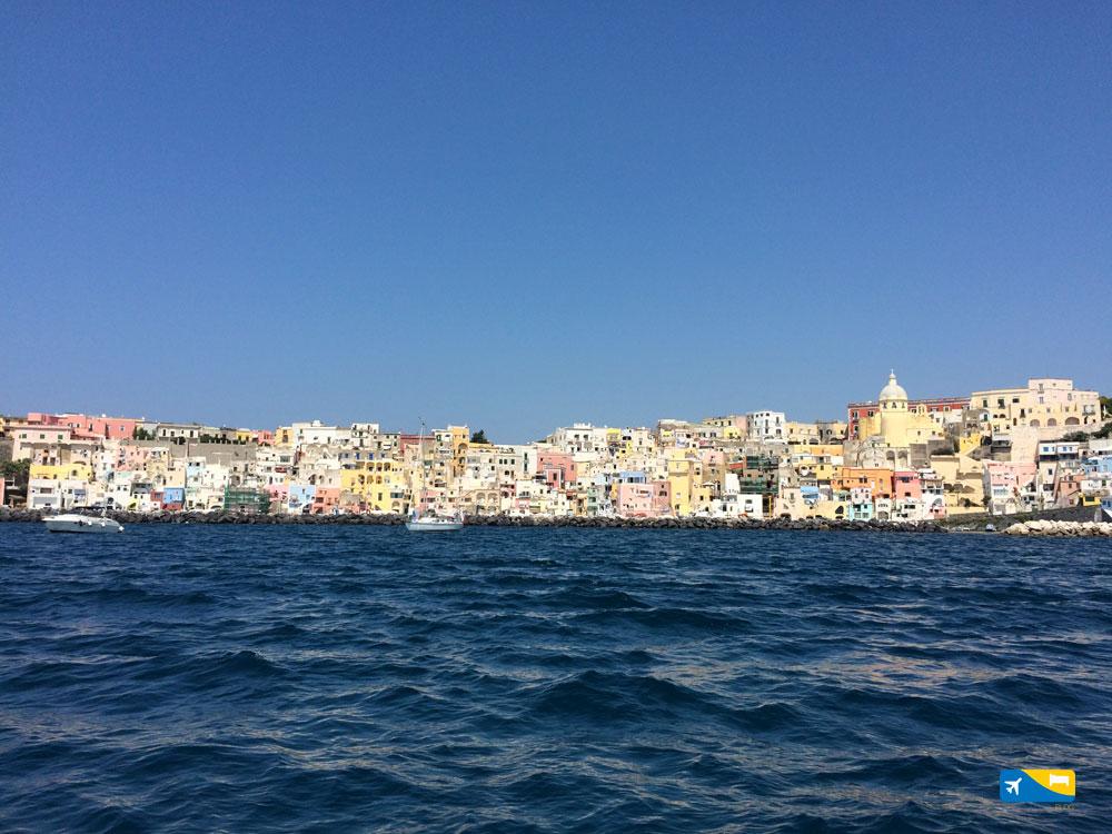 Marina di Corricella a Procida