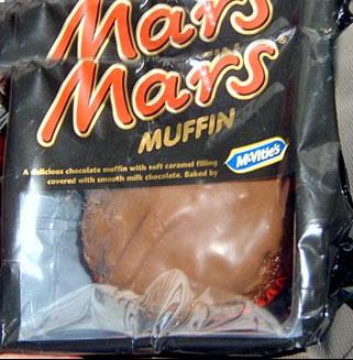 Muffin Mars sui voli Ryanair
