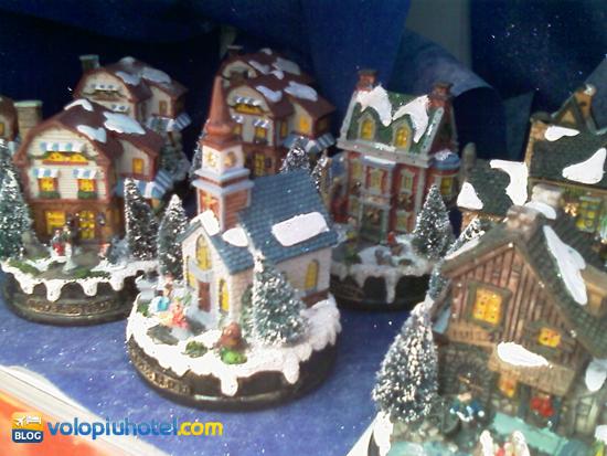 Mercatini di Natale bancarelle