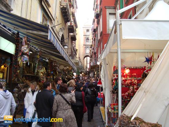 Mercatini di Natale a San Gregorio Armeno