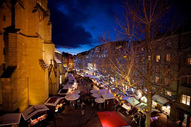 Mercatini di Natale a Losanna