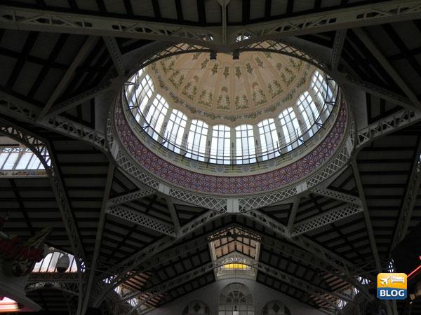 Cupola Centrale del Mercato a Valencia