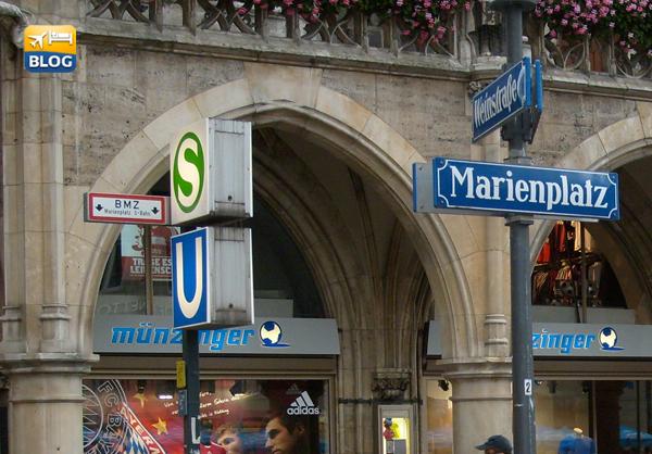 Fermata Metro Marienplatz a Monaco di Baviera
