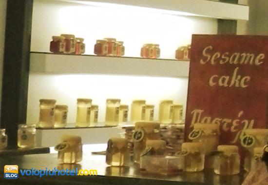 Le confezioni di miele a Mykonos