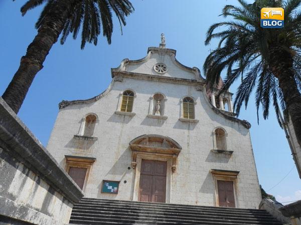 Chiesa di Milna in Croazia