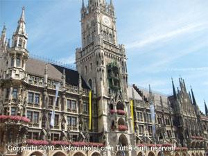 Marienplatz e il Rathaus