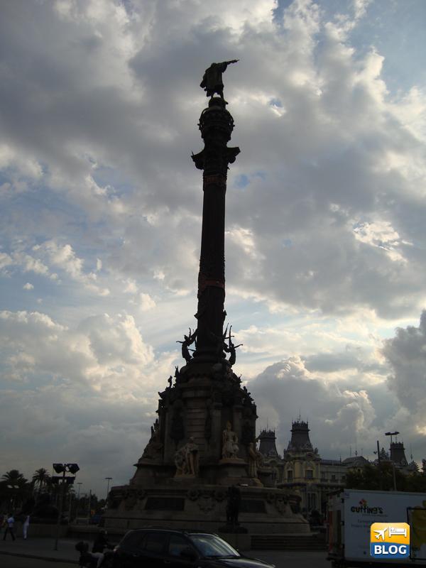 Monumento a Cristoforo Colombo a Barcellona