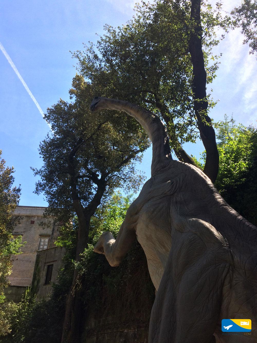 Dinosauri agli Astroni