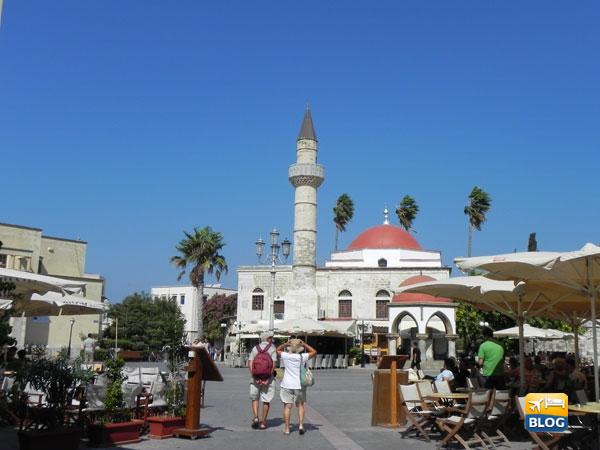 Museo archeologico di Kos nella piazza