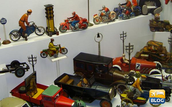 Alcuni giocattoli del museo