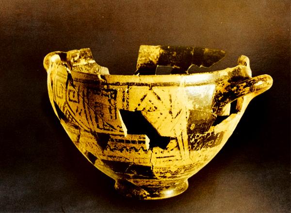 La Coppa di Nestore al Museo Pithecusae di Ischia
