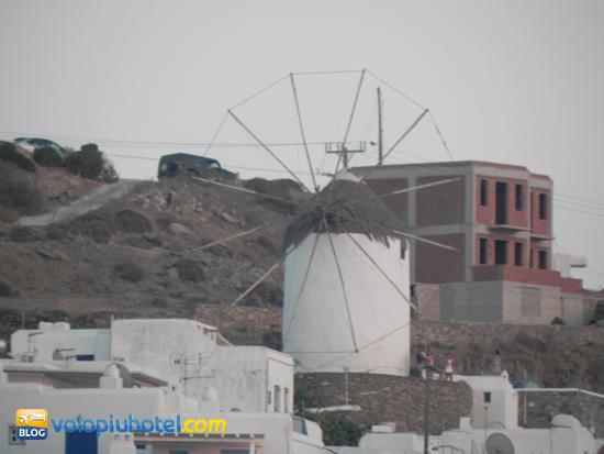 Mulini a vento a Mykonos