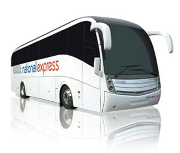 Bus della National Express di Londra