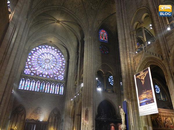 Rosone laterale di Notre-Dame di Parigi