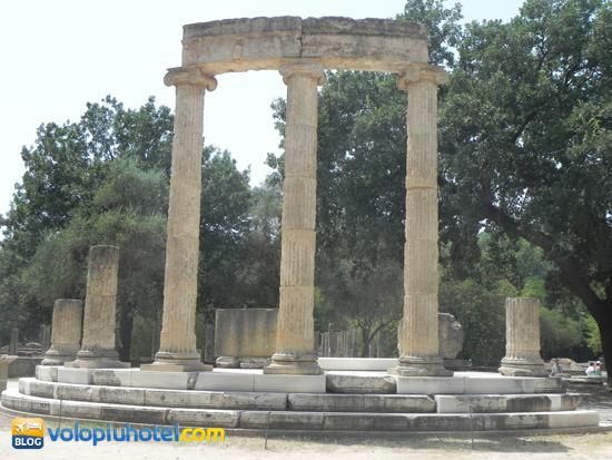 Il Philippeion ad Olimpia