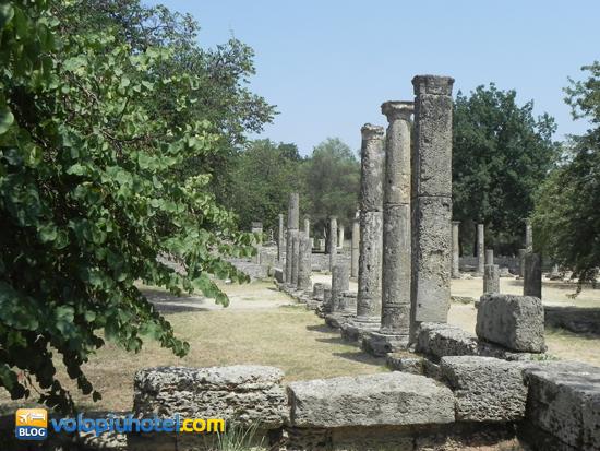 Colonnato ad Olimpia