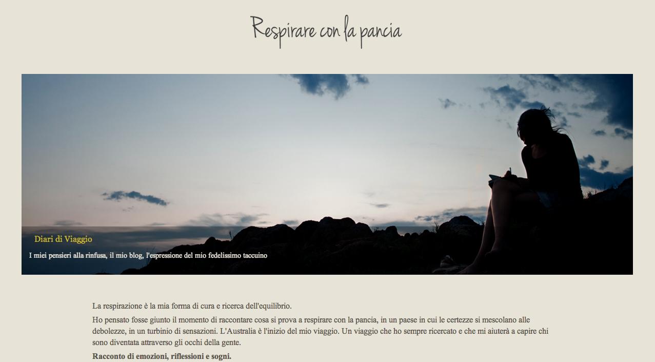 Blog Respirareconlapancia.it